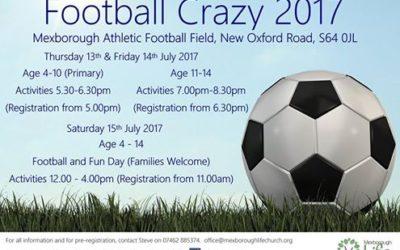 Football Crazy with Mexborough Life Church